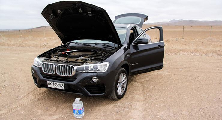 BMW F26 X4 Fluid Change