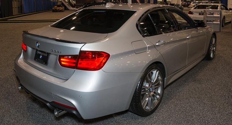 BMW on Road