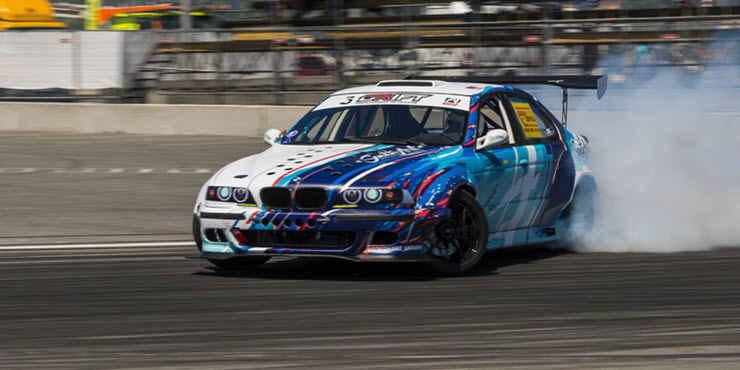 Drift BMW Car