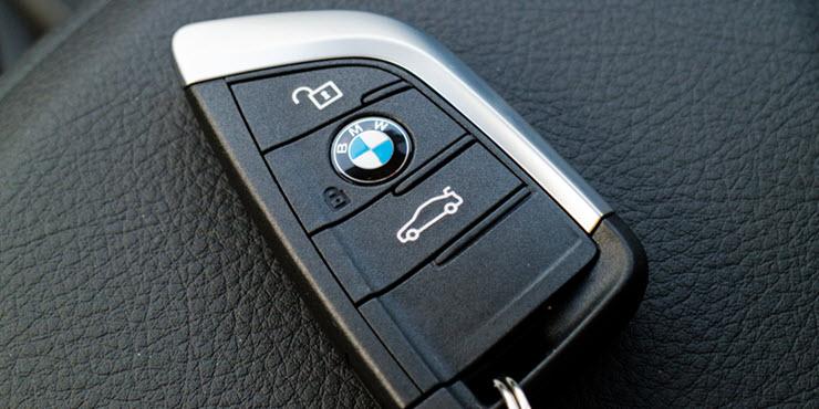 BMW X1d Key