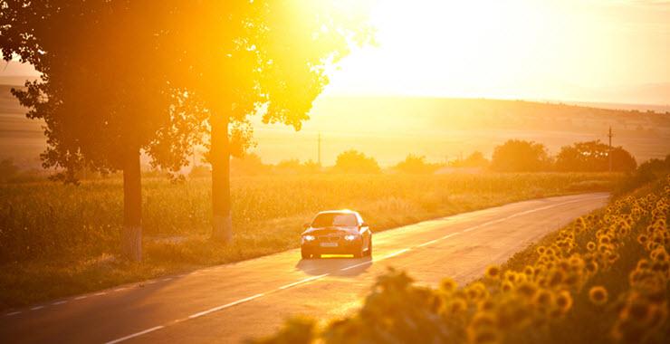 BMW M3 on Road