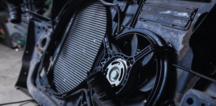 BMW Cooling Fan Module