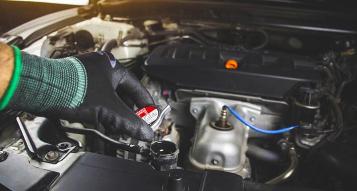 BMW Radiator Cap Check