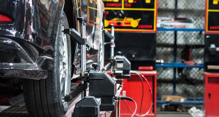 BMW Wheel Misalignment Repair