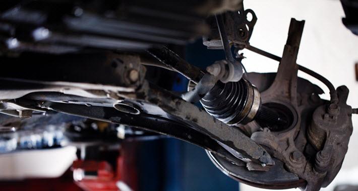 BMW CV Boot Inspection